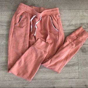 NWOT Pink Jogger Pants Size XS